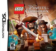 Pirates of The Caribbean LEGO Nintendo DS Game, case and manual