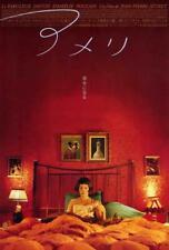Amelie Movie Poster 27 x 40 Audrey Tautou, Mathieu Kassovitz, Japanese A