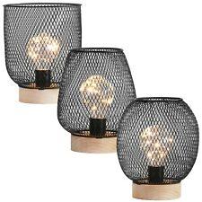 Industriel rétro à Batterie DEL Lampe de bureau lumière de chevet Lanterne Maison de