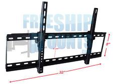 SLIM EXTRA LARGE TV LCD LED PLASMA TILT WALL MOUNT 47 50 55 60 65 70 80