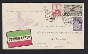 MEXICO 1929 May 15, Air Mail Cover
