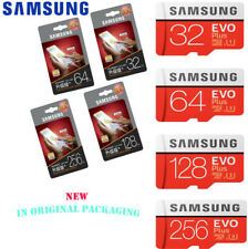 Original Samsung EVO Plus 32GB 64GB 128GB 256GB Micro SD Memory Card Waterproof