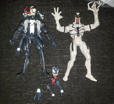 Marvel Select Venom & Anti-Venom(Broken Fingers) loose Spider-Man