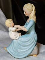 Vintage Goebel W. Germany Rock-A-Bye Baby Porcelain Figurine 1959  Charlot Byj