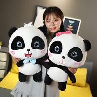 Hot Animal Baby Bus Cute Panda Plush Toy Soft Stuffed Dolls for Kids Xmas Gift