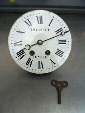 mouvement oeil de boeuf diamètre 19 cm,horloge,pendule, mécanisme, dans son jus