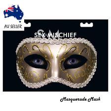 Mask Masquerade Lace Venetian Fetish Fancy Dress Erotic Ball Black Eye Glitter