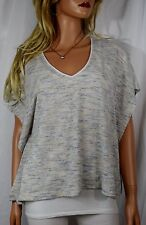 NEW WHITE HOUSE BLACK MARKET  Shades of Blue Dolman Sweater w Camisole  Small
