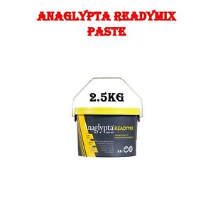 Anaglypta Ready Mixed Wallpaper Paste Extra Strong Super Stick Adhesive Glue Tub