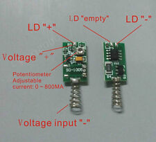 808nm 1mw-1w Laser Diode Driver adjustable current temperature protection