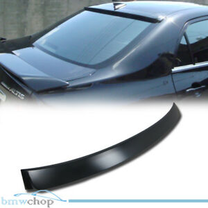 Unpainted Fit For Toyota Corolla Altis 10th Window Roof Spoiler Rear 08-13