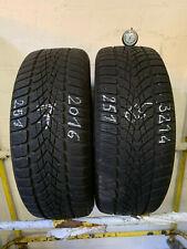 2x Winterreifen Dunlop SP Winter Sport 4D 205/55 R16 91H M+S 251 6,5-7,0mm