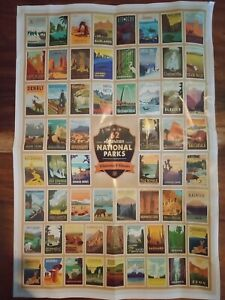 American National Parks Jigsaw Puzzle 1000 Piece Brand New Factory Sealed