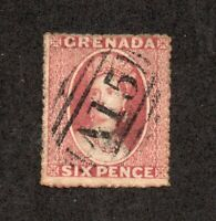 Grenada - SG# 3 Used/ Unwmk / Perf 14-16       -   Lot 0520132