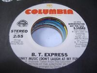 Soul Promo 45 B. T. EXPRESS Funky Music (Don't Laugh at