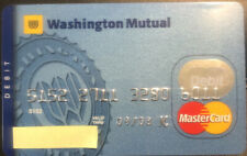 Washington Mutual (now defunct bank) MasterCard debit card