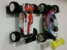 2x (1x set) of RC buggy 1/10 scale wall hanger brackets tidy storage on display