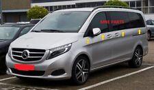 para Mercedes Vito W447 2014+ moldura de ventana de 8pcs   chasis largo cromado