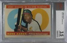 1960 Topps High # Hank Aaron #566 BVG 3.5 HOF