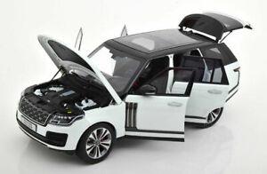 MODELLINO AUTO DIECAST 1:18 LCD MODELS IN METALLO SUV RANGE ROVER SV 2020 BIANCO