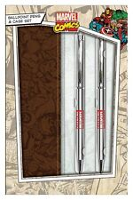 MARVEL PREMIUM BALLPOINT PEN CASE SET  NEW OFFICIAL MERCHANDISE PYRAMID