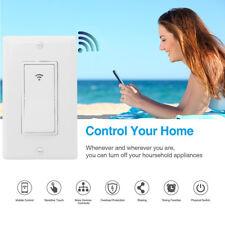 Smart LED Light Dimmer WiFi Wall Touch Switch way Work w/ Alexa Google Wi-Fi