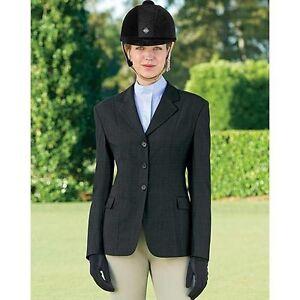 Womens Ladies English Horse Show Riding Jacket Hunt Coat 10 12 14 USA