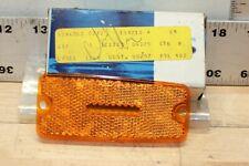 NOS FORD 77-82 COURIER Truck Front Side Marker Orange Light Lens