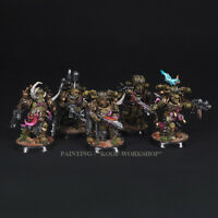 Warhammer 40k 5 Painted Death Guard Squad Plague Marines