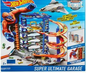 HOT WHEELS SUPER ULTIMATE GARAGE Play Set instructions are included.