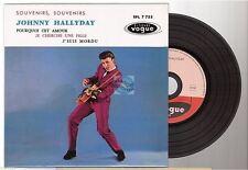 JOHNNY HALLYDAY CD EP REPLICA DELUXE EDITION souvenirs souvenirs