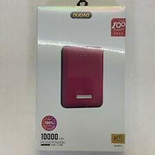 Ultra Portable Quick Charge Dual USB Power Bank 10000mAh Battery Charger