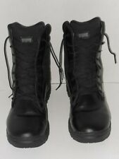MAGNUM TECHNOLOGY BLACK LEATHER WORK BOOTS SIZE 12 M