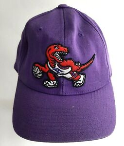 Mitchell & Ness NBA Toronto Raptors Logo Purple Snapback Adjustable Hat Cap