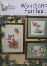 Jeanette Crews Designs - Cross Stitch Pattern - Woodland Fairies #1276