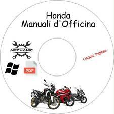 HONDA MOTO/SCOOTER - Guida Manuali d'Officina - Riparazione e Manutenzione!