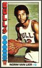 1976-77 Topps Basketball Norm Van Lier #108 - Chicago Bulls - Mint