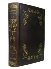 THE HUNCHBACK OF NOTRE-DAME BY VICTOR HUGO 1838 Fine Morocco Leather Binding