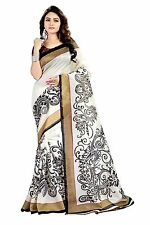 BOLLYWOOD DESIGNER SAREE SARI INDIAN ETHNIC PAKISTANI WEDDING BLOUSE PARTY WEAR