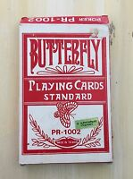 JUMBO PLAYING CARDS - Butterfly, Standard Deck, PR-1002,  Big Numbers! MUST SEE!