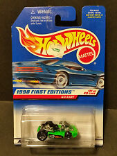 1998 Hot Wheels #651 1998 First Editions 21/40 - Go Kart - 18679