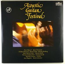 "2x 12"" LP various-Acoustic Guitar Festival-a4017-rar-washed & cleaned"