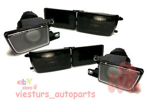 For VW GOLF 3 MK3 VENTO Turn Signals Side Lamps Fog Lights LEFT and RIGHT SMOKED