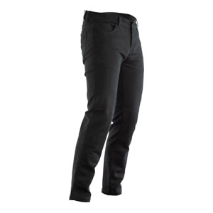 RST ARAMID CE High Abrasion Black Denim Motorbike Jeans Regular/Short/Long Leg