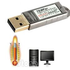 USB Thermometer Sensor Temperature Data Logger Tester For PC Laptop Mac Computer