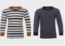Next Striped Long Sleeve Crew Neck Boys' T-Shirts & Tops (2-16 Years)