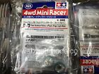 Tamiya 95348 Mini 4wd 17mm Aluminum Rollers with Plastic Rings Light Blue