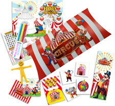 15 x Pre Filled Circus Party Box Carnival Big Top Parties Activity Gift Bags