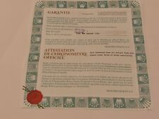 ROLEX ladys 18ct Pearlmaster Guarantee Papers 1995 Mappin & Webb