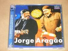 BOITIER 2 CD RARE / JORGE ARAGAO AO VIVO / COMEMORATIVA / IMPORT BRESIL / TBE